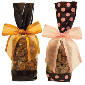 flavored pecan gift bags