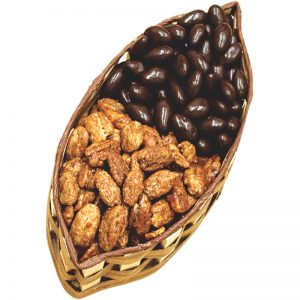 pecan basket for gifts